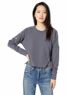 HUDSON Jeans Women's SNAP Pullover  MD