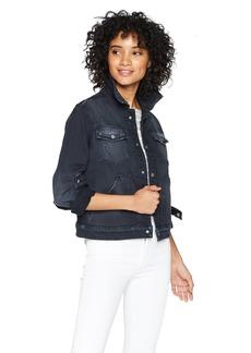 Hudson Jeans Women's The REN Trucker Jean Jacket MayDay LG