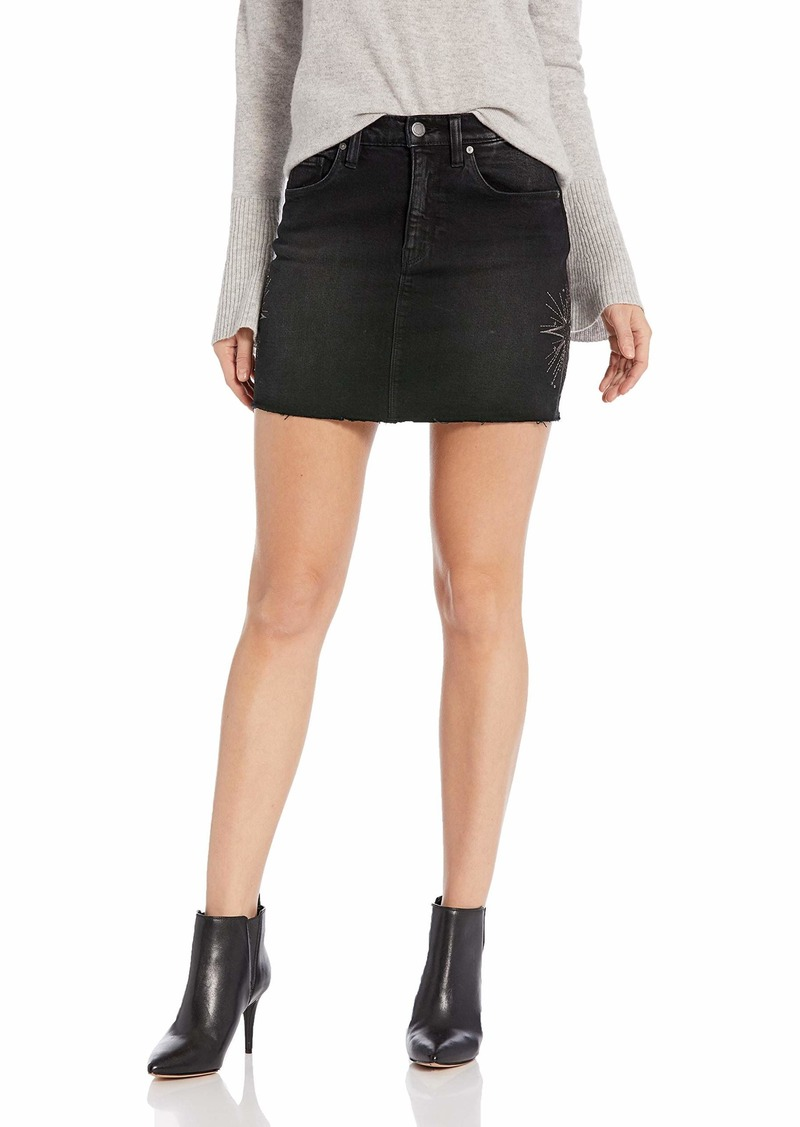 Hudson Jeans Women's The Viper Mini Skirt