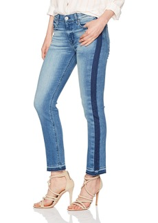 Hudson Jeans Women's Tilda Midrise Crop Cigarette with Side Seam Detail