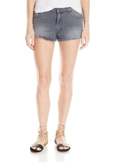 HUDSON Jeans Women's Tori Slouch Short Raw Hem
