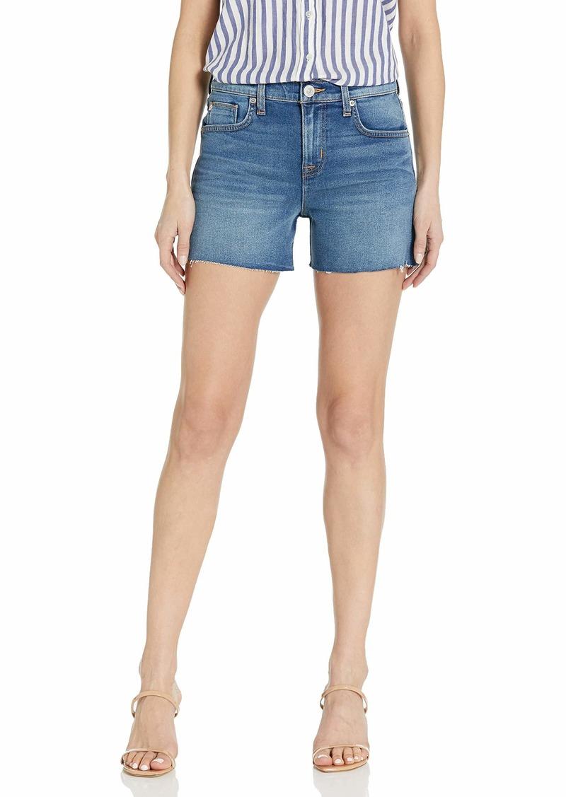 HUDSON Jeans Women's Valeri Cut Off 5 Pocket Jean Short TAKE Flight