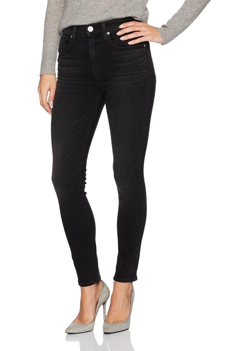 Hudson Jeans Women's Vintage Holly High Rise Crop Skinny 5 Pocket Jean