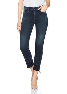 Hudson Jeans Women's Zoeey High Rise Straight + Released Hem 5 Pocket Jeans