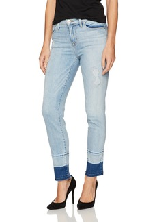 Hudson Jeans Women's Zooey Mid Rise Crop Straight with Released Hem 5-Pocket Jean