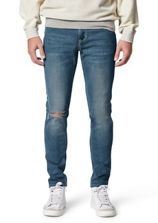 Hudson Jeans Zack Ripped Skinny Fit Jeans (Norris)