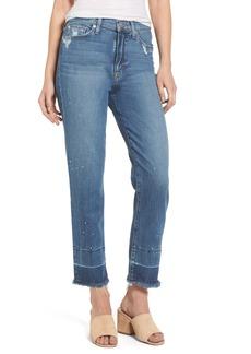Hudson Jeans Zoeey Crop Release Hem Skinny Jeans
