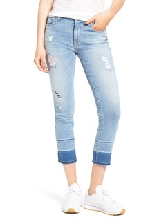 Hudson Jeans Zoeey Crop Straight Leg Jeans (Side Hustle)