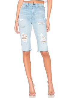 Hudson Jeans Zoeey High Rise Cut Off Boyfriend Short