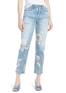 Hudson Jeans Zoeey High Waist Ankle Straight Leg Jeans