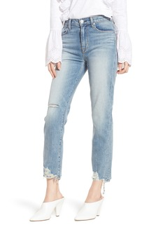 Hudson Jeans Zoeey High Waist Ankle Straight Leg Jeans