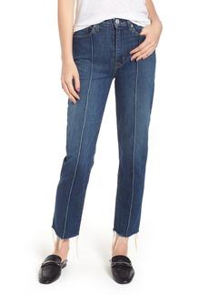 Hudson Jeans Zoeey High Waist Crop Straight Leg Jeans (Demeanor)