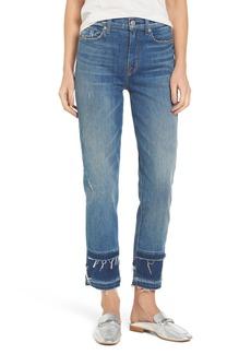 Hudson Jeans Zoeey High Waist Crop Straight Leg Jeans (Social Grace)