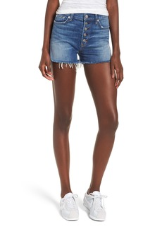Hudson Jeans Zoeey High Waist Cutoff Denim Shorts (Doll Face)
