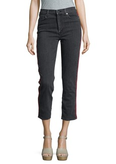 Hudson Jeans Zoey Cropped Mid-Rise Jeans