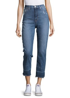 Hudson Jeans Zoey Faraway Cropped Jeans
