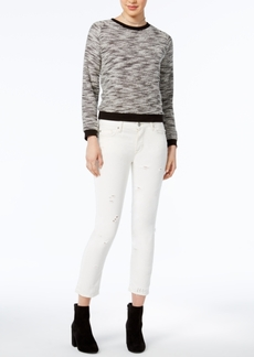 Hudson Jeans Zooey Cropped Straight-Leg Jeans