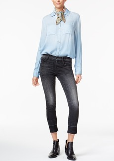 Hudson Jeans Zooey High-Rise Released-Hem Jeans