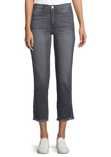 Hudson Jeans Zooey Lethal High-Rise Straight Crop