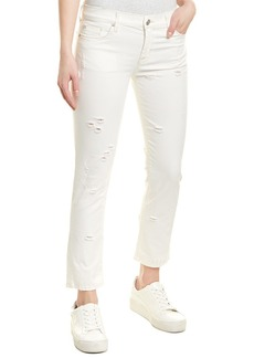 Hudson Jeans Zooey Natural Disaster Mid-Rise Straight Crop