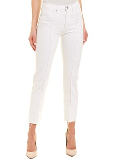 Hudson Jeans Zooey White High-Rise Straight Crop
