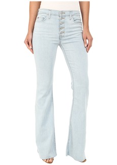 Hudson Jeans Hudson Jodi High Waist Flare with Raw Hem in Slater
