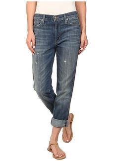Hudson Jude Skinny Jeans w/ Beading in Serrano
