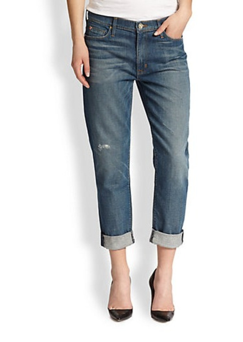 Hudson Jeans Hudson Jude Slouchy Skinny Cropped Jeans