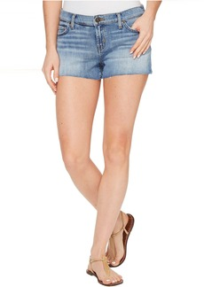 Hudson Jeans Hudson Kenzie Cut Off Five-Pocket Shorts in Defy