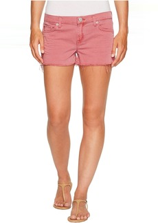 Hudson Jeans Hudson Kenzie Cut Off Five-Pocket Shorts in Dusted Orchid