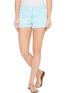 Hudson Jeans Hudson Kenzie Cut Off Five-Pocket Shorts in Luminous Blue