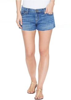 Hudson Jeans Hudson Kenzie Cut Off Five-Pocket Shorts in Undefeated