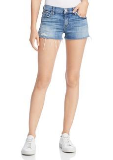 Hudson Jeans Hudson Kenzie Cutoff Denim Shorts in Manic Panic