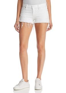 Hudson Kenzie Cutoff Denim Shorts in White