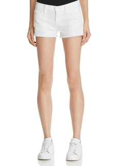 Hudson Kenzie Cutoff Shorts in White