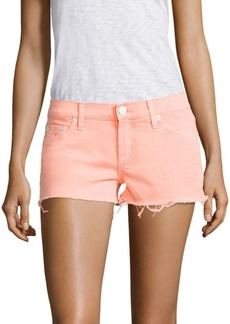 Hudson Jeans Hudson Kenzie Neon Cut Off Shorts