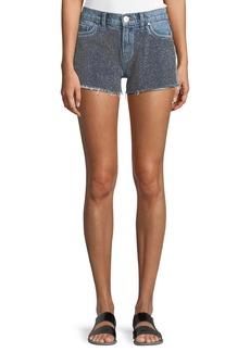 Hudson Jeans Hudson Kenzie Studded Cutoff Denim Shorts