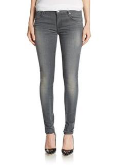 Hudson Kickflip Mid-Rise Skinny Ankle Jeans
