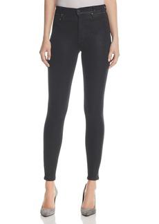 Hudson Kooper Slim Jeans in Black Coated