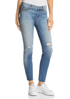 Hudson Krista Ankle Raw-Hem Jeans in Countdown - 100% Exclusive