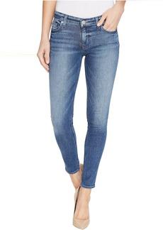 Hudson Krista Ankle Super Skinny Five-Pocket Jeans in Reigning