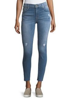 Hudson Jeans Hudson Krista Raw-Hem Ankle Jeans