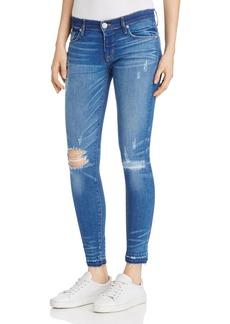 Hudson Krista Released-Hem Ankle Jeans in Chain Reaction
