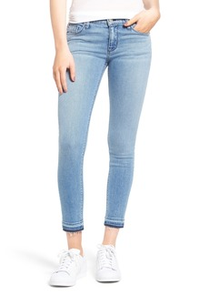 Hudson Krista Released Hem Ankle Super Skinny Jeans (Shotgun)