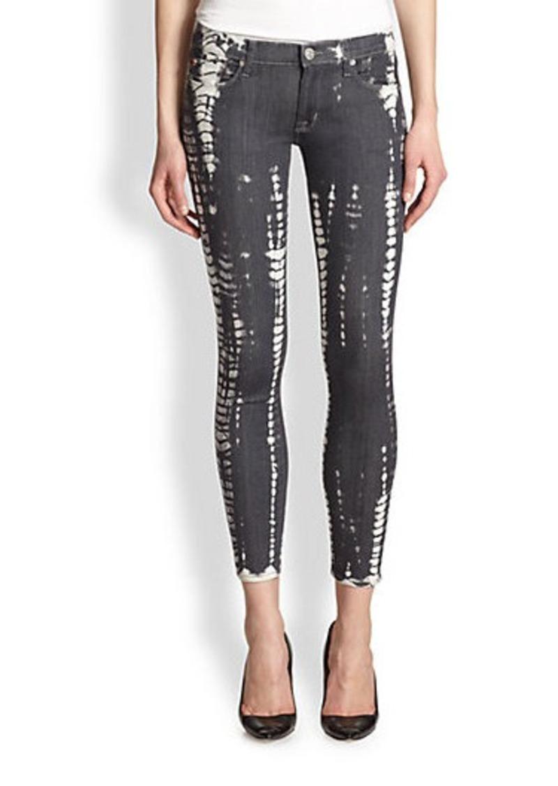 Hudson Jeans Hudson Krista Super Skinny Printed Jeans