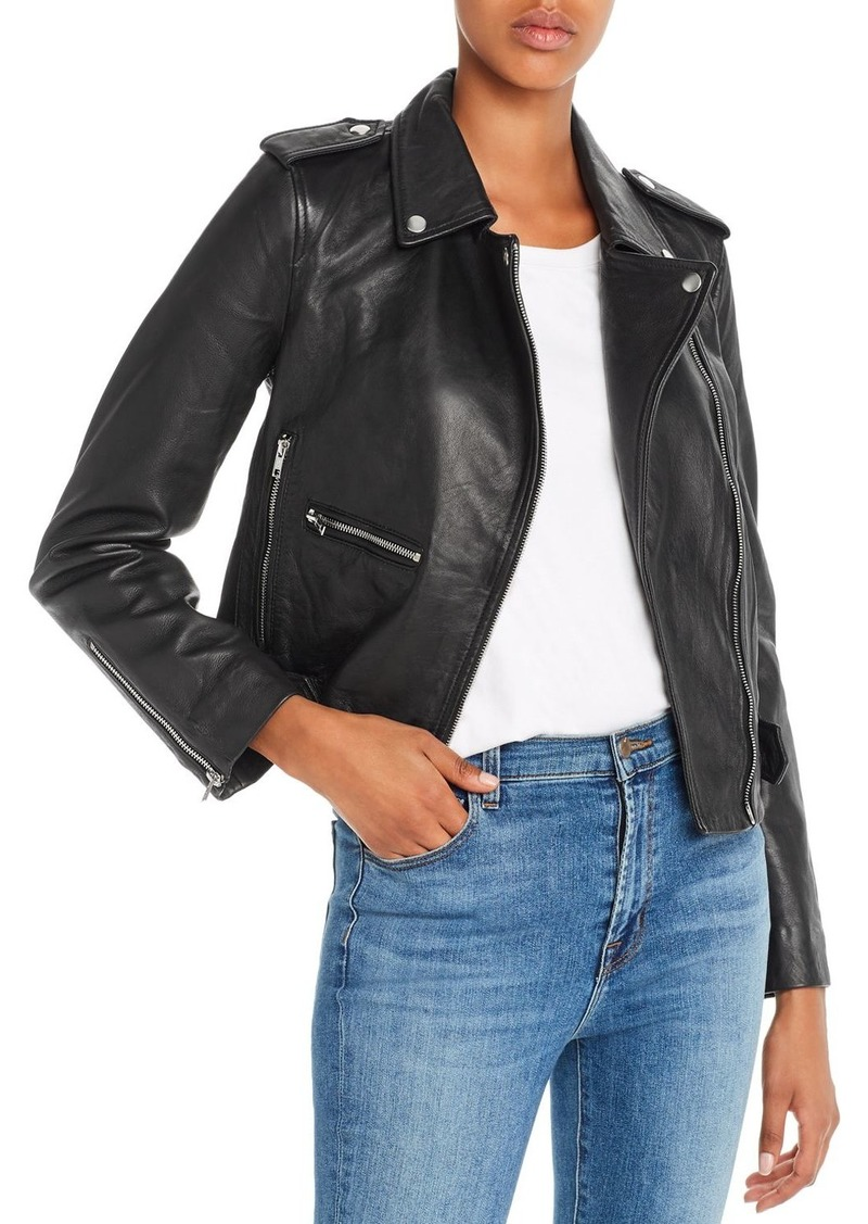 Hudson Jeans Hudson Leather Moto Jacket