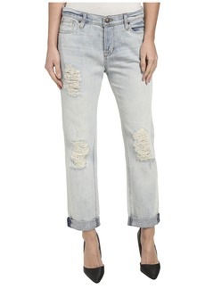 Hudson Jeans Hudson Leigh Boyfriend w/ Distressing in Weekend Warrior