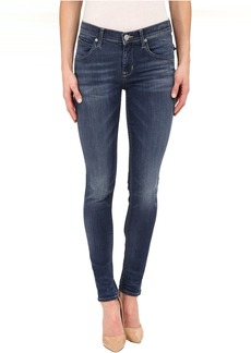 Hudson Lilly Mid-Rise Ankle Skinny in Indigo Aster
