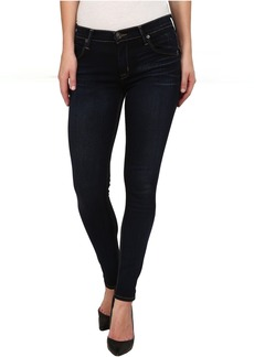 Hudson Lilly Midrise Ankle Skinny w/ Flap Jeans in Oracle