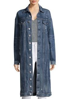 Hudson Jeans Long Denim Duster Jacket